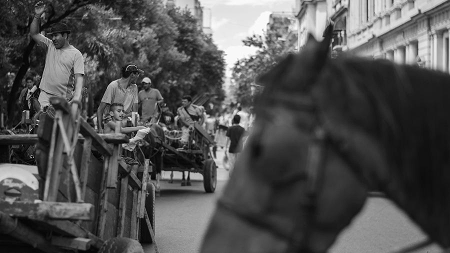 carreros la esperanza movilizacion