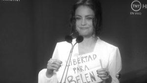 """Dolores Fonzi pidió que liberen aBelén: """"Sin libertad no somos nada"""""""