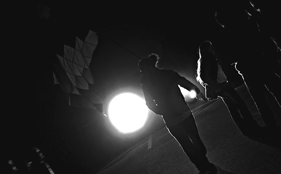 Bloqueo de Malvinas. 2013. Foto: Colectivo Manifiesto.
