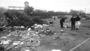 Vuelven a arrojar desechos de agrotóxicos en Villa Los Galpones