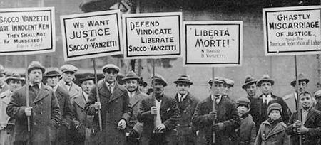 saco y vanzetti solidaridad