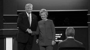 Clinton-Trump, primer round