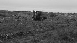 Desalojo, represión y detenidos en el conurbano bonaerense