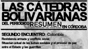 Cátedras Bolivarianas en Córdoba: Colombia
