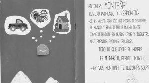 San Juan: regalan libros infantiles pro mineros