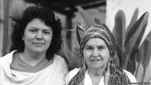 """""""En memoria de mi amada hija Bertita Caceres"""""""