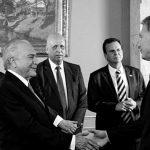 Macri recibe a Michel Temer en la quinta de Olivos