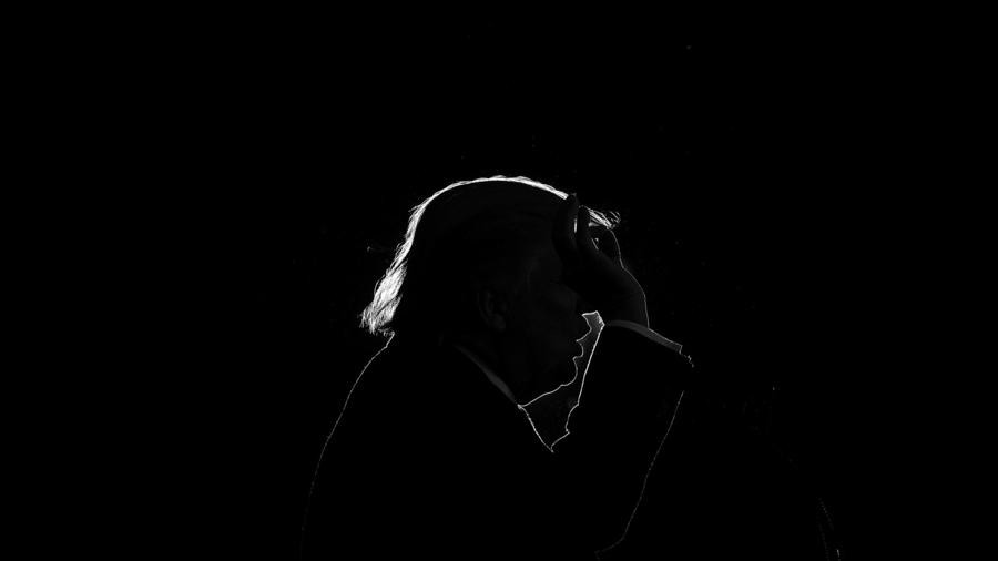 La campaña de Trump. Damon Winter