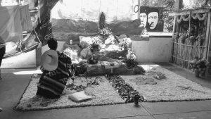 Normalistas de Ayotzinapa recuerdan a sus compañeros muertos