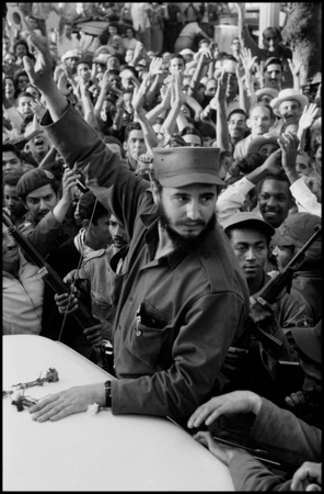 Days of euphoia as Fidel CASTRO and his army tries to drive through the city of Ciefuego, on their way to liberate Havan.