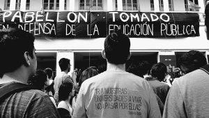 Estudiantes ratifican rechazo a la reforma política de Hugo Juri