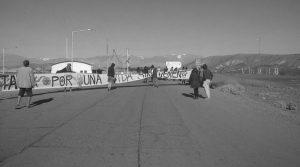 Jáchal: bloqueo y represión