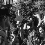 Escrache a Schiaretti en Villa María por la Ley de Bosques
