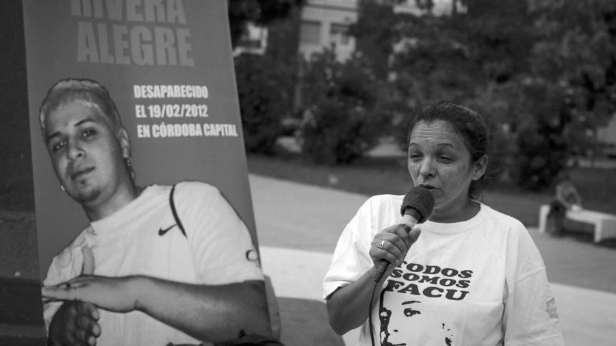 facundo rivera alegre desaparecido en democracia cordoba argentina policia de la sota