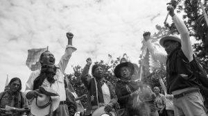 Los que marchan hace siglos: Originarios por los Derechos Humanos
