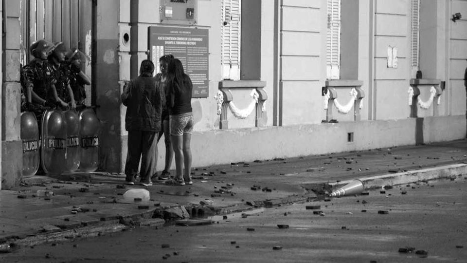 masacre portada pergamino presos incendio policia