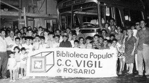 La Biblioteca Popular Vigil con un presente de lucha