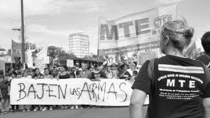Por la represión en el comedor de Lanús, una mujer perdió su bebé