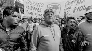 """Pablo Moyano: """"Queda claro que acá el único que para el país es la CGT"""""""