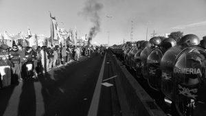 El show del orden y la represión de la protesta social