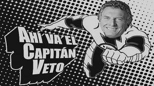 El veto, la desmentida de la mentada división de poderes