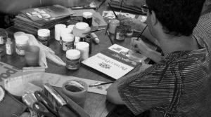 La Sofía cartonera, la editorial escuela que busca desacralizar el libro