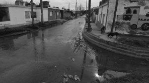 Problemas en la red cloacal de Villa el Libertador