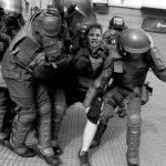Chile: violenta represión a marcha de estudiantes