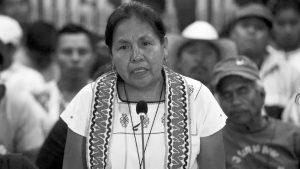 México: una mujer indígena para que retiemble en sus centros la tierra