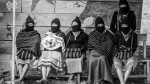 Mujeres rebeldes zapatistas