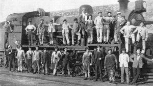 Fútbol, ferrocarriles y luchas obreras