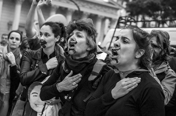 pintadas araceli fulles femicidio asesinos policia medios