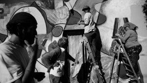 Alta Gracia se Pinta: muralear es siempre colectivo