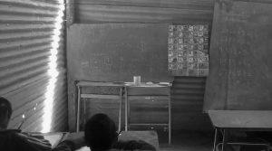 """""""No pedimos una escuela moderna, pero que tenga paredes, techo y una cocina"""""""