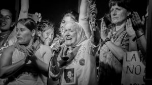 """Nora Cortiñas: """"No era feminista, hasta que se llevaron a mi hijo"""""""