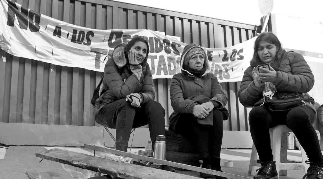 precarización-laboral-trabajadores-pepsiCo-protesta-despidos-Buenos-Aires