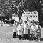 Escuelas contaminadas y clases suspendidas por fumigaciones