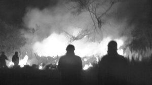 Incendio en Córdoba: crónicas desde el fuego