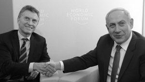 Crece en Argentina el repudio a la visita del primer ministro israelí