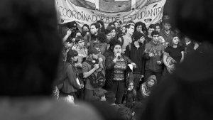Frente a la Escuela del futuro, resistencia estudiantil en Buenos Aires