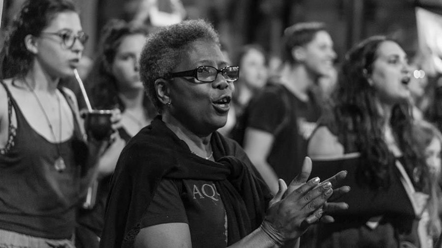 Mujer-negra-Uruguay-feminismo-marcha-Natalia-Vera