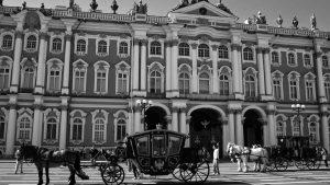 Tímidos festejos en San Petersburgo a 100 años de la Revolución Rusa