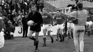 La identidad trabajadora del fútbol soviético