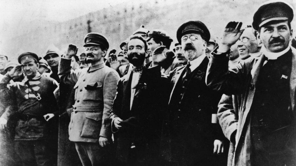 stalin-trotsky-rusia