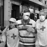 Represión: buscan testigos para trabajador que fue baleado en el ojo