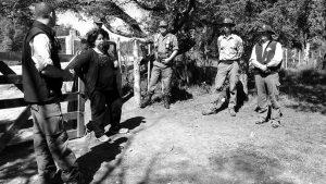 Gendarmería Nacional desaloja camping Mapuche en los Alerces
