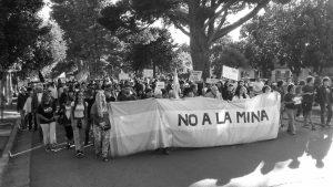 Represión en la cumbre minera de Aranguren