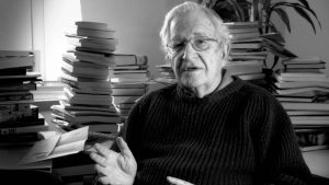 """Noam Chomsky """"Tenemos que repensar lo que significa el poder"""""""