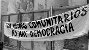 """Por una comunicación democrática: """"Un derecho no es negocio"""""""