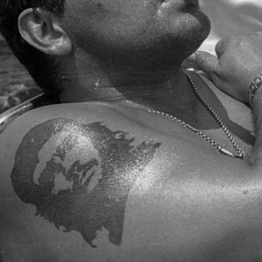 Maradona-Tatuaje-Che-Guevara